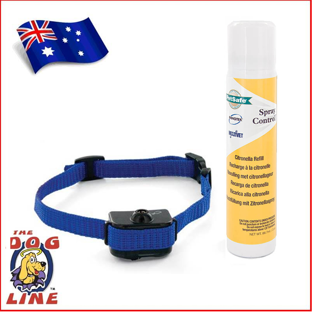 PetSafe Elite Little Dog Spray Bark Collar for small dogs with extra FREE Battery