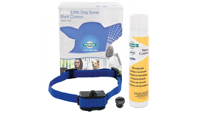 PetSafe Elite Little Dog Spray Bark Collar for Small Dogs - 1 extra FREE Battery