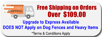 FREE SHIPPING FOR ORDERS MADE OVER $109.00