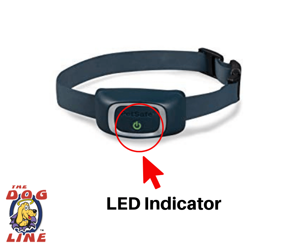 PetSafe Rechargeable Bark Control Collar LED indicato