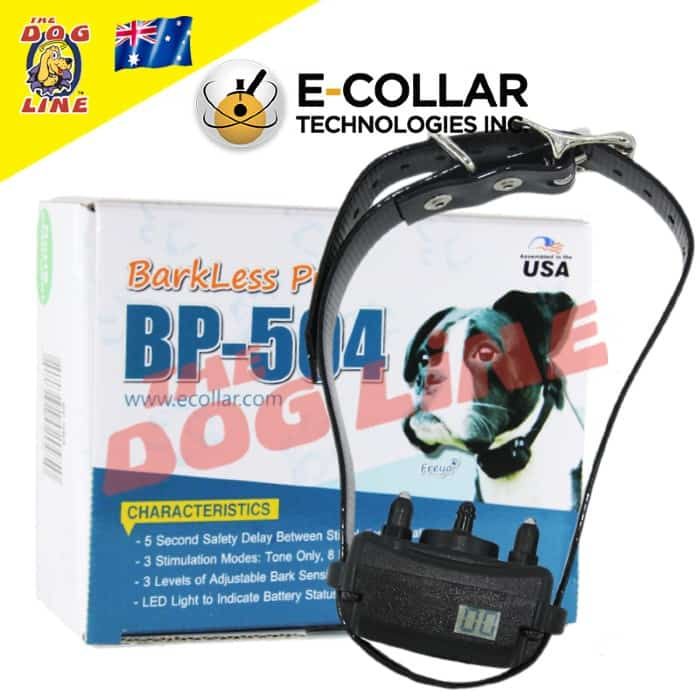 Barkless Pro BP-504 E-Collar with Bark Counter