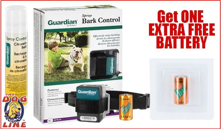 Guardian Citronella Bark Collar With Bonus Battery