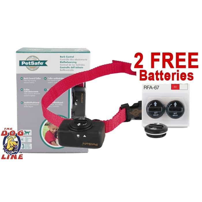 Petsafe Bark Collar PBC 102 with 2 Extra Batteries