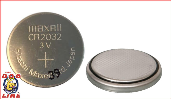 3 Volt Button Lithium Battery 2032 - Pack of Two