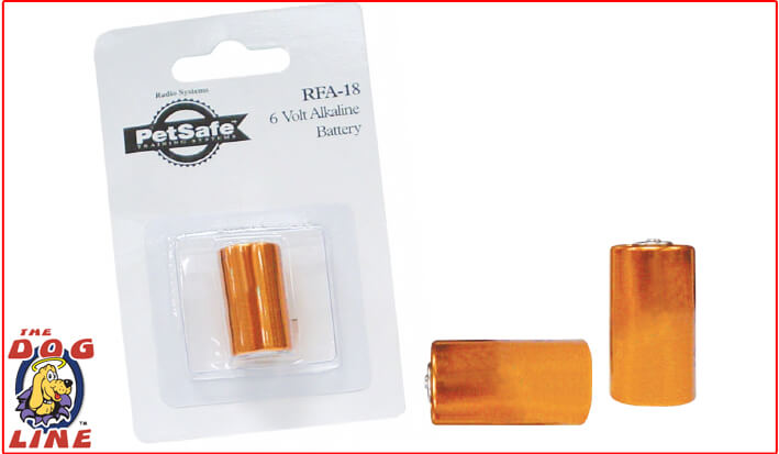 RFA18 Citronella Collar Battery 6Volt Alkaline