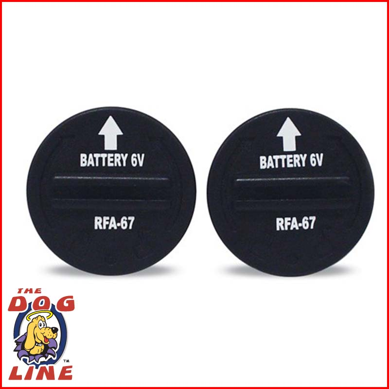 RFA-67 Battery | Petsafe RFA67 Bark Collar Battery