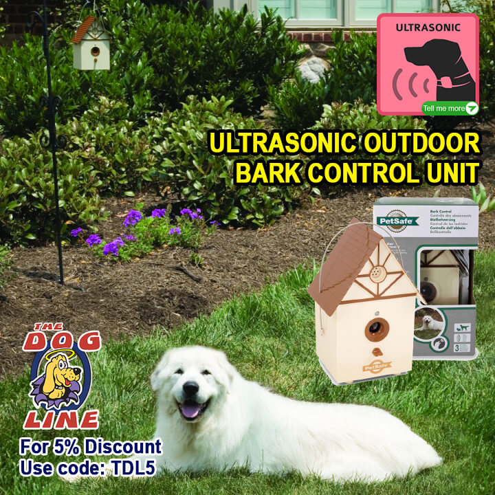 Stop your neighbour's dog from barking with PetSafe Ultrasonic Outdoor Bark House