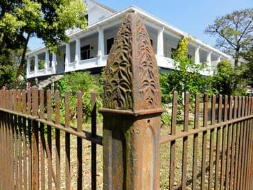 Traditional House Fence
