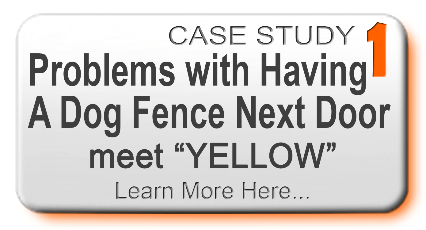 Learn More - Problems with having a dog fence next door