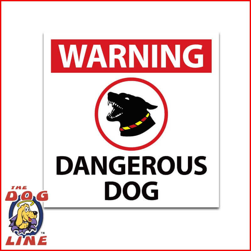 Dangerous Dog Sign NSW