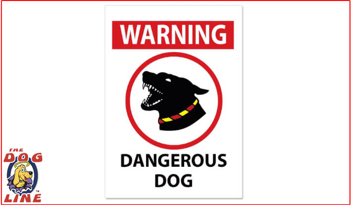 Dangerous Dog Sign – WA
