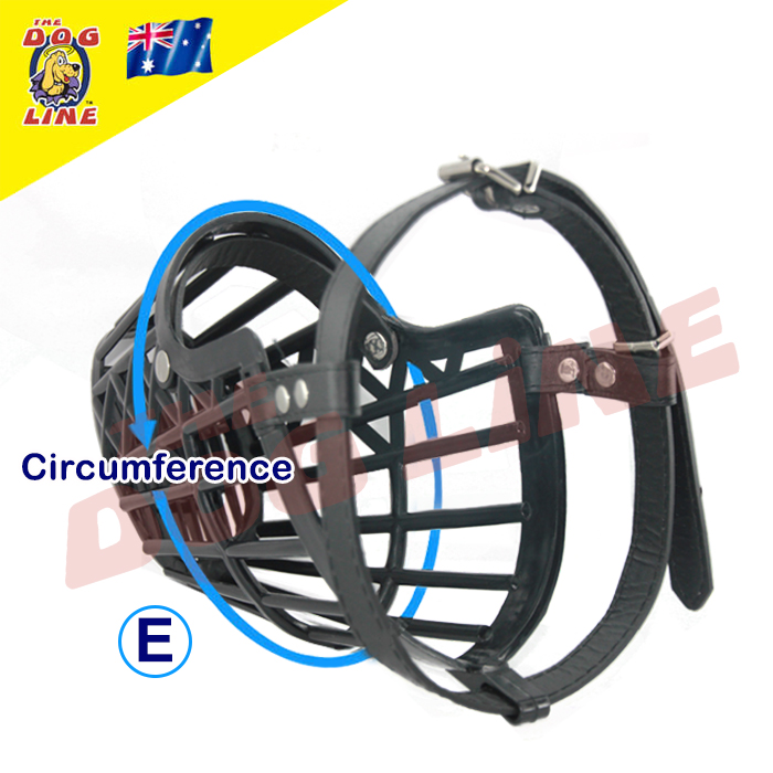 Dog Muzzle for Biting - Plastic Cage