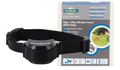 PetSafe Stay + Play Wireless Fence Standard Dog Extra Receiver Collar - PIF19-14011