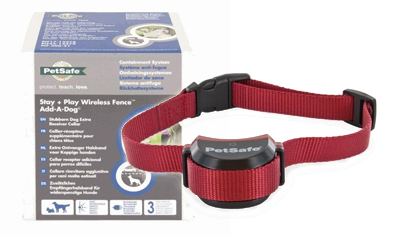 PetSafe Stay + Play Wireless Fence Stubborn Dog Extra Receiver Collar - PIF19-14186