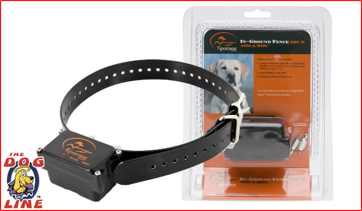 SportDOG® In-Ground Fence Add-A-Dog Receiver Collar – SDF-R