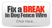 How Do I Fix a Break Dog Fence Wire?