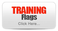 Dog Fence Training Flags