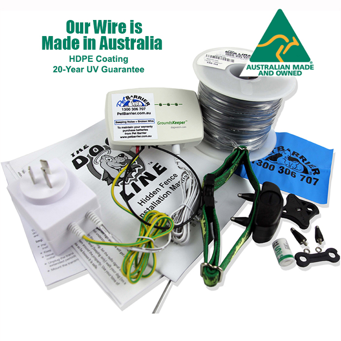 Durable Dog Fence Wire Australian Made