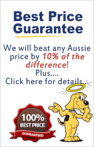 We'll Beat Any Aussie Competitor Price