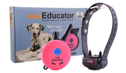 Educator Training Collar Mini ET-300 Pink Lady Trainer