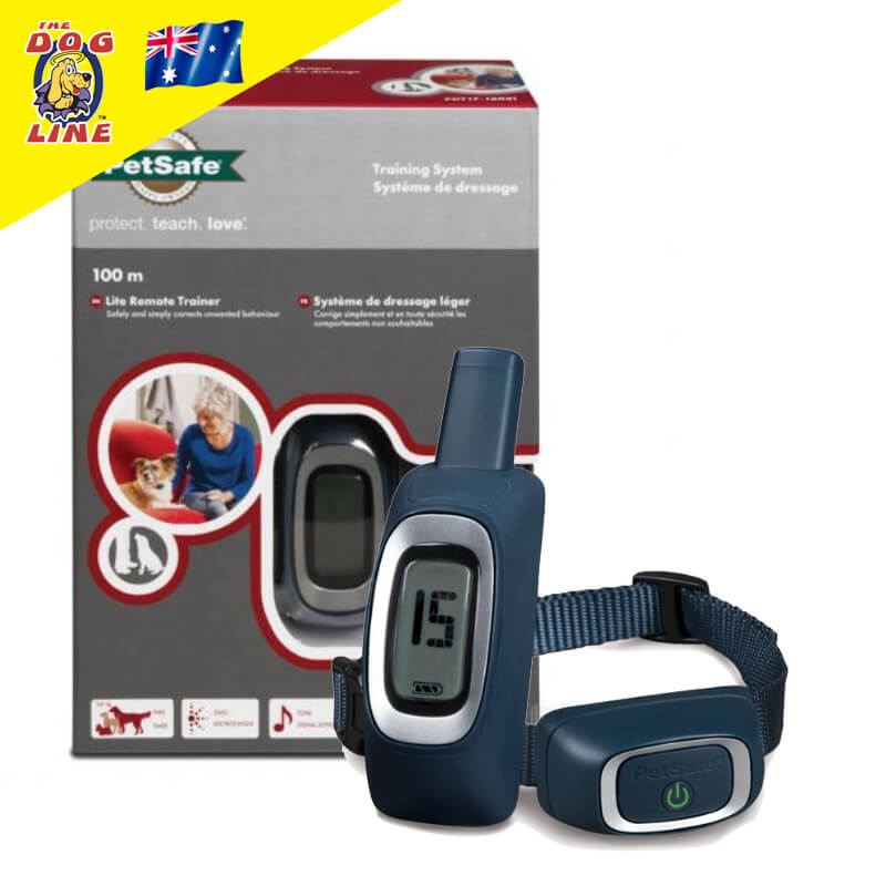 Effectively train your timid dog with PetSafe Lite 100m Remote Dog Trainer