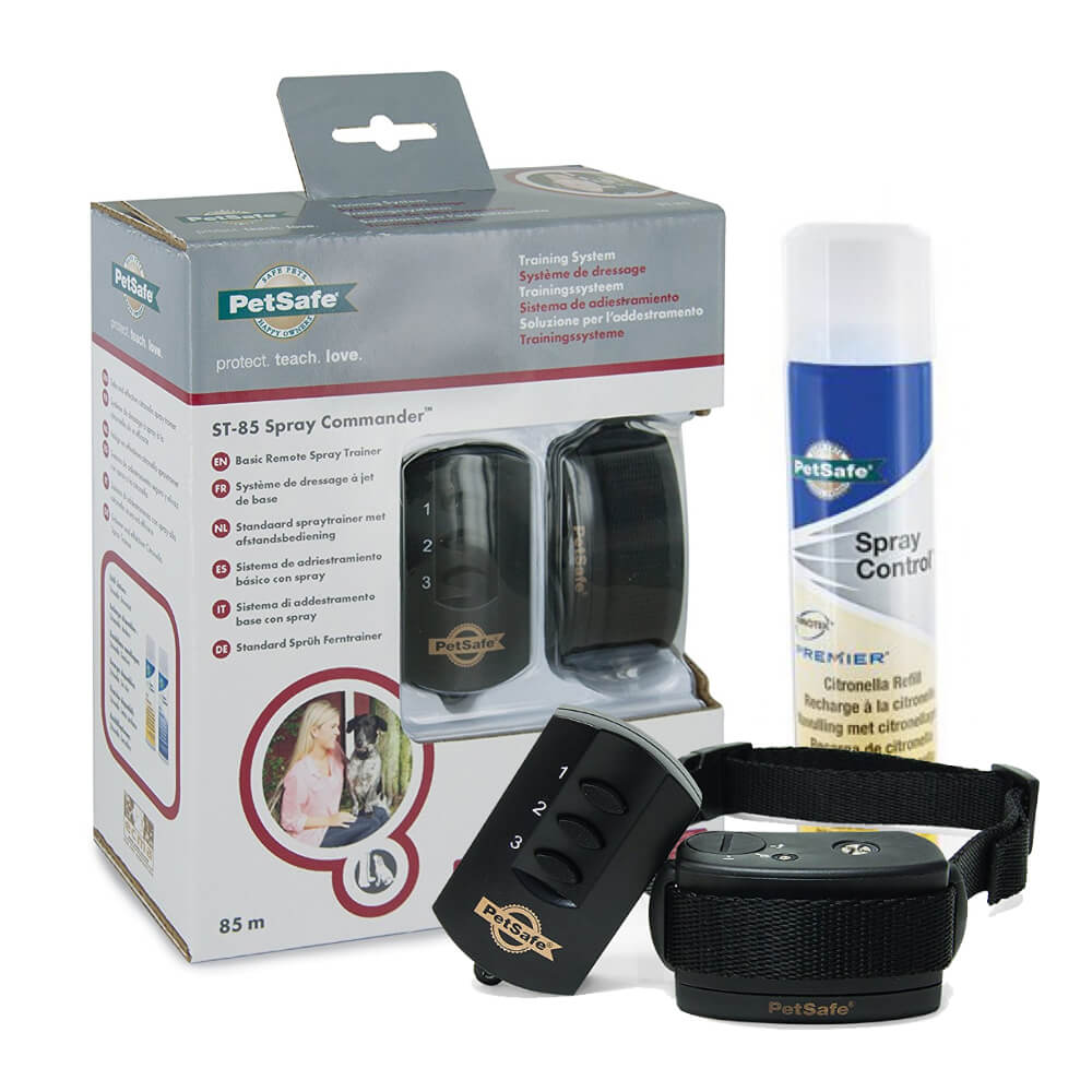 Get your dog a PetSafe Spray Commander Remote Spray Trainer