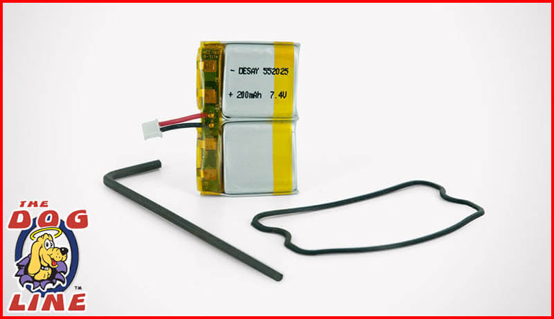 SportDOG SD-1225 & SD-1825 Receiver Collar Replacement Battery Kit - SAC00-12544