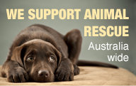 We Support Animal Rescue