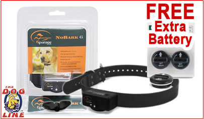 SportDog Bark Collar SDBC6 with 2 FREE Batteries